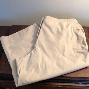 Ralph Lauren Capri Pants. Khaki!